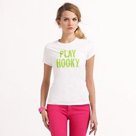 """""""play hooky'' tee"""