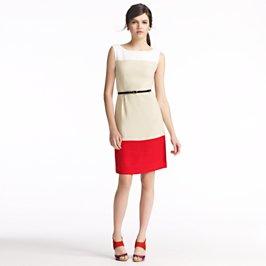 colorblock brodie dress