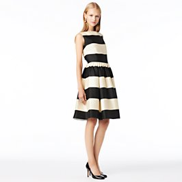 striped carolyn dress