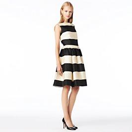 striped carolyn dress