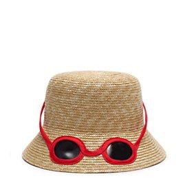 straw sunglasses hat