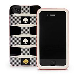 signature spade iphone 4 case