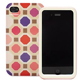 florence broadhurst octagonal iphone 4 case