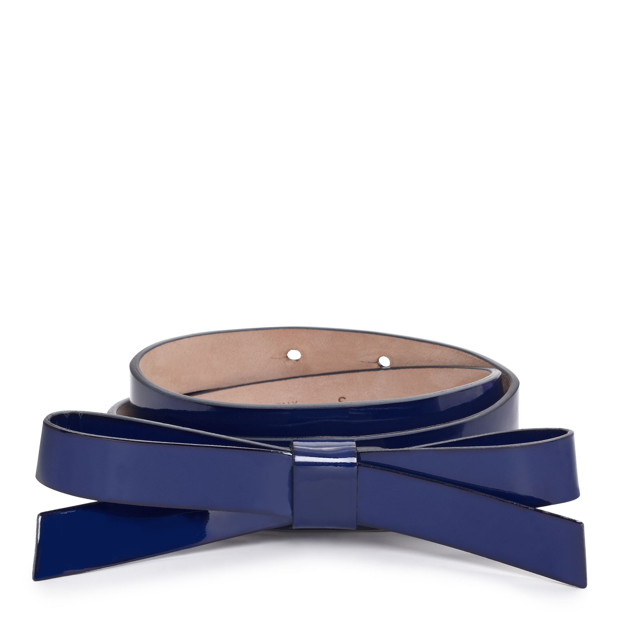 Kate Spade Bow Belt - Cobalt Blue