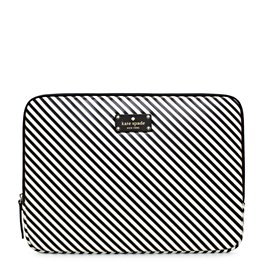 diagonal stripe laptop sleeve