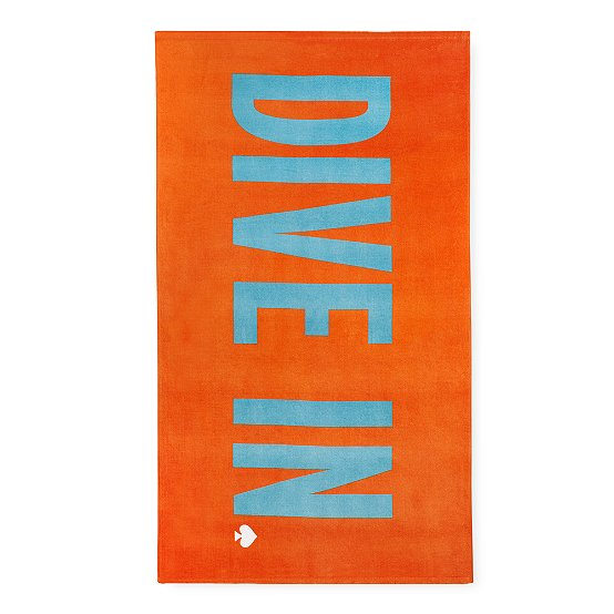 Kate Spade Dive-In Beach Towel
