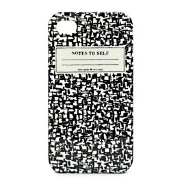 composition notebook iphone 4 case