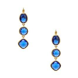 big time triple drop earrings