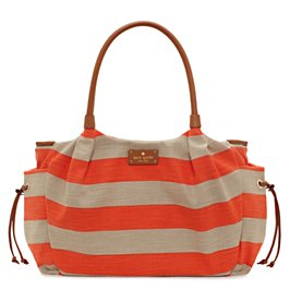 jubilee stripe stevie baby bag