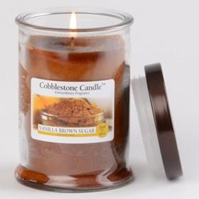 Vanilla Brown Sugar Jar Candle, 18 oz.