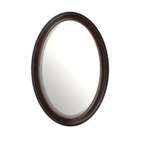 Oval Tortoise Mirror, 21x31