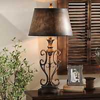 Scroll Table Lamp