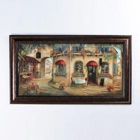 Geno's Pizzeria Framed Print