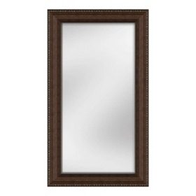 Bronze Bead Mirror, 32x56