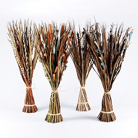 Assorted Dried Self-Standing Accent Bundles