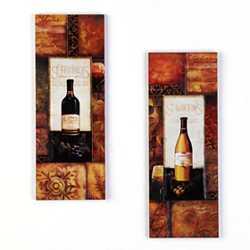 St. Martin's Vineyard Wall Plaques