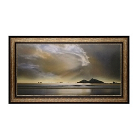 Shoreline Retreat Framed Print
