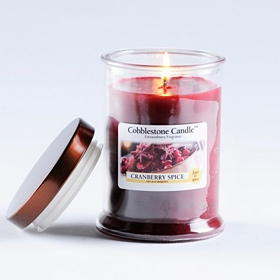 Cranberry Spice Jar Candle