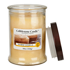 Warm Vanilla Jar Candle, 18 oz.