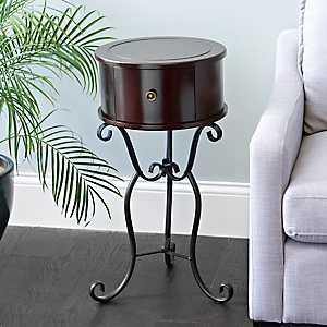Espresso Accent Table