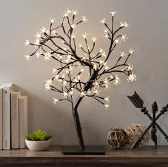 Pre-Lit White Cherry Blossom Tree