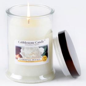 Gardenia Petals Jar Candle