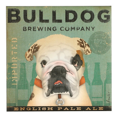 Bull Dog Canvas Print