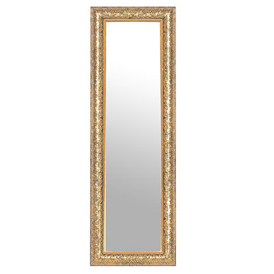 Embossed Gold Mirror, 6x28