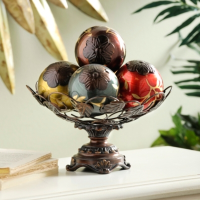 Vine Glass Orb Bowl