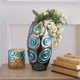 Turquoise Bloom Vase