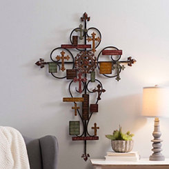 Sentiment Cross Plaque