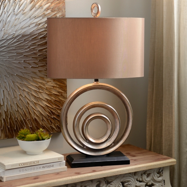 circles table lamp cheap entryway furniture