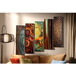 Harper Canvas Print, Set of 5