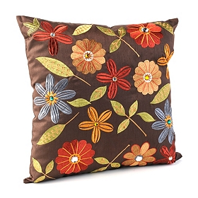 Chocolate Milena Pillow