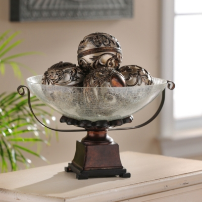 Imperial Champagne Orb Bowl