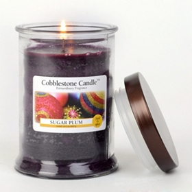 Sugar Plum Jar Candle