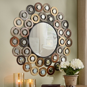 Metallic Dots Mirror