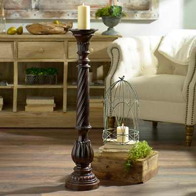 Twisted Candle Holder, 36 in.