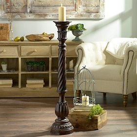 Twisted Candle Holder, 42 in.