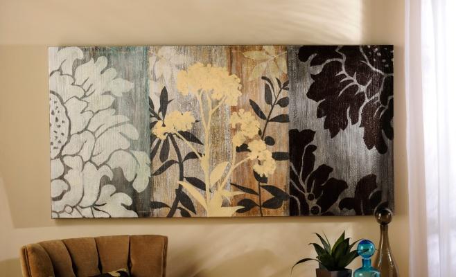 Cherish Silhouette Canvas Print