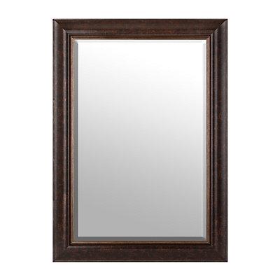Bronze & Gold Framed Mirror, 32x44