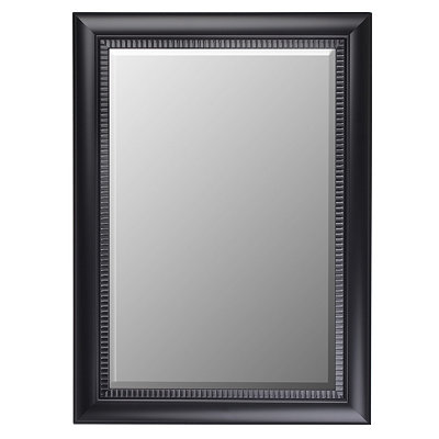 Black Framed Mirror, 32x44