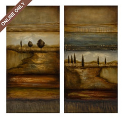 Reflection Canvas Print, Set of 2