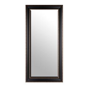 Black Full Length Beveled Mirror, 32x66