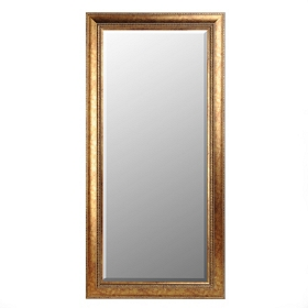 Antique Gold Full Length Mirror, 32x66