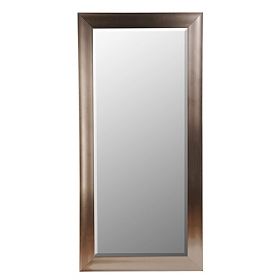 Polished Silver Mirror, 32x66