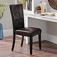 Brown Parsons Chair