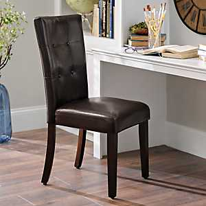 Brown Parsons Chair