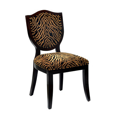 Zebra Shield Side Chair