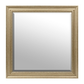 Gold Framed Mirror, 30x30